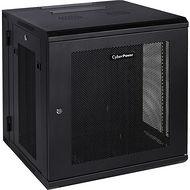 "CyberPower CR12U51001 12U 19"" Enclosure 600x600mm Door Side Panels Black 5-Year Warranty"