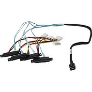 HighPoint 8643-4SAS-1M 1 Meter Cable Length, SFF-8643 to Controller & 4x SFF-8482 to 4x SAS Drives