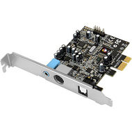 SIIG IC-510211-S1 DUAL PROFILE DOLBY DIGITAL 5.1 24-BIT SURROUND SOUND CARD WITH S/PDIF OPTICAL OUT
