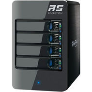 HighPoint RS6414VS RocketStor 6414VS Drive Enclosure Tower - 4 x HDD Supported