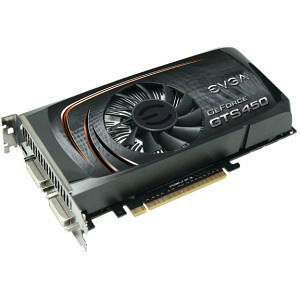 EVGA 01G-P3-1450-TR GeForce 450 Graphic Card - 822 MHz Core - 1 GB GDDR5