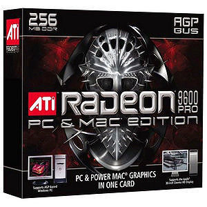 AMD 100-435065 Radeon 9600 Pro PC & Mac Edition Graphics Card