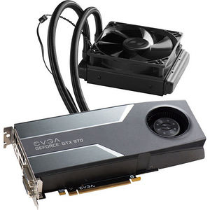 EVGA 04G-P4-1976-KR GeForce GTX 970 Graphic Card - 1.14 GHz Core - 4 GB GDDR5 - PCI-E - Dual Slot
