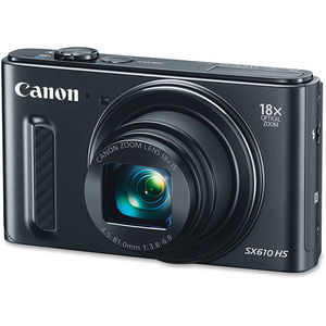 Canon 0111C001 PowerShot SX610 HS - Wi-Fi Enabled (Black)