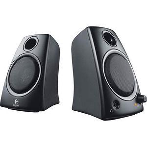 Logitech 980-000417 Z130 2.0 Speaker System - 5 W RMS - Desktop - Black