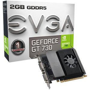 EVGA 02G-P3-3738-KR GeForce GT 730 Graphic Card - 2 GB GDDR5 - Single Slot Space Required