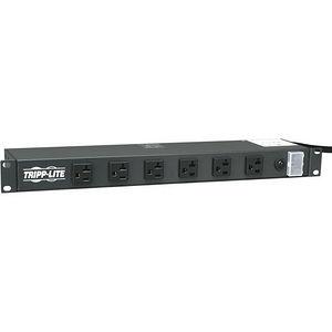 Tripp Lite RS-1215-20 Rackmount Metal 120V 5-20R 12 Outlet 15' Cord 1URM Power Strip