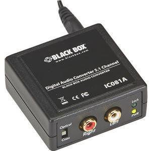 Black Box IC081A Digital Audio Converter - 5.1 Channel