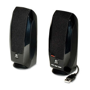 Logitech 980-000028 S-150 2.0 Black 1.2W RMS Speaker System