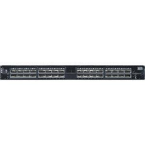 Mellanox MSN2700-CS2F SPECTRUM BASED 100GBE 1U OPEN ETHERNET SWITCH WITH MLNX-OS, 32 QSFP28 PORTS, 2 P