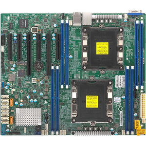 Supermicro MBD-X11DPL-I-O Server Motherboard - Intel Chipset - Socket P  LGA-3647 - 1 x Retail Pack