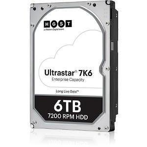 """HGST 0B36047 Ultrastar 7K6 512E SE HUS726T6TAL5204 6 TB SAS 3.5"""" 7200 RPM 256 MB Cache Hard Drive"""