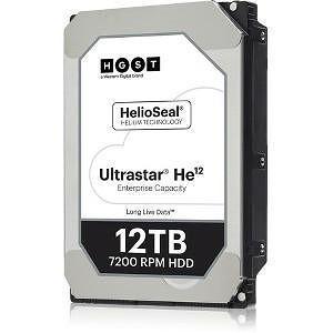 """HGST 0F29563 HUH721212A4205 12 TB 3.5"""" SAS 7200 RPM 256 MB 4KN FIPS Hard Drive"""