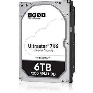 """HGST 0B36015 Ultrastar 7K6 4KN TCG HUS726T6TAL4201 6 TB SAS 3.5"""" 7200 RPM 256 MB Cache Hard Drive"""