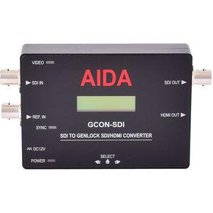 AIDA GCON-SDI SDI to Genlock SDI/HDMI Converter