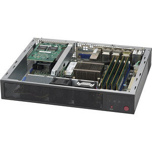 Supermicro SYS-E300-9A 1U Mini PC Server - 1 x Intel Atom C3858 12 Core 2 GHz DDR4 SDRAM - 84 W