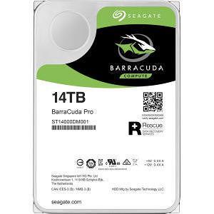"""Seagate ST14000DM001 Barracuda Pro 14 TB 3.5"""" SATA 7200 RPM 256 MB Hard Drive"""