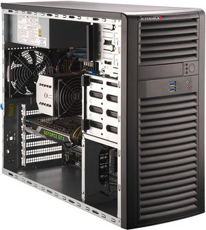 Supermicro SYS-5039A-i Mid-Tower Workstation | SabrePC