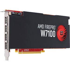 AMD 100-505724 FirePro W7100 - 8 GB GDDR5 PCIe x16 Graphic Card