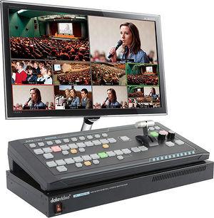 Datavideo SEB-1200 SE-1200MU 6 Input Switcher + RMC-260 Controller Bundle