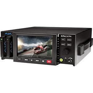 AJA KI-PRO-ULTRA Ki Pro Ultra 4K/UltraHD and 2K/HD Recorder/Player with 4K 60p Support