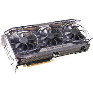 EVGA 08G-P4-2287-KR GeForce RTX 2080 Graphic Card - 1.86 GHz Boost Clock - 8 GB GDDR6 - Triple Slot