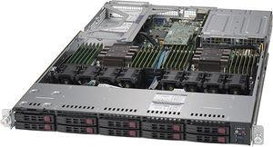 Supermicro SYS-1029UX-LL1-S16 1U Server - 2 x Intel Xeon Gold 6144 8C 3.50 GHz - 192 GB DDR4 SDRAM