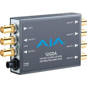 AJA 12GDA 1x6 12G HD/SD SDI Reclocking Distribution Amplifier