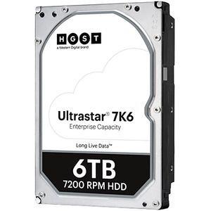 """HGST 0B36039 HUS726T6TALE6L4 6 TB SATA 3.5"""" 7200 RPM 256 MB 512E Hard Drive"""