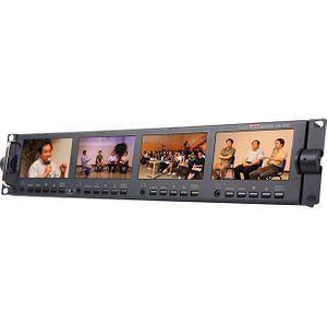 "Datavideo TLM-434H 4 x 4.3"" HD/SD TFT LCD Monitor"