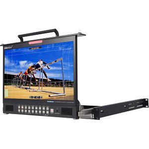 "Datavideo TLM-170PM 17.3"" HD/SD TFT LCD 1U Foldable Rackmount Monitor"