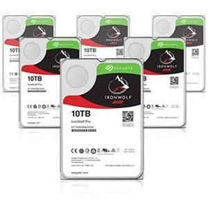 "Seagate ST10000NE0008 IronWolf Pro 10 TB 3.5"" 7200 RPM SATA 256 MB Cache Hard Drive"