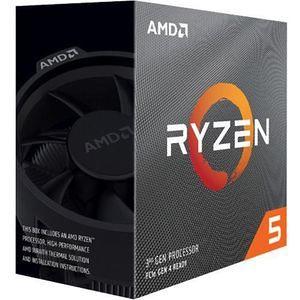 AMD 100-100000022BOX Ryzen 5 3600X (6 Core) 3.80 GHz Processor - Retail