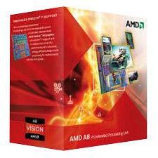 AMD AD3820OJGXBOX A8-3820 QUAD-CORE FM2 2.8G 4MB 65W BOX
