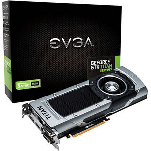 EVGA 06G-P4-3790-KR GeForce GTX TITAN Black Graphic Card - 889 MHz Core - 6 GB GDDR5 - Dual Slot