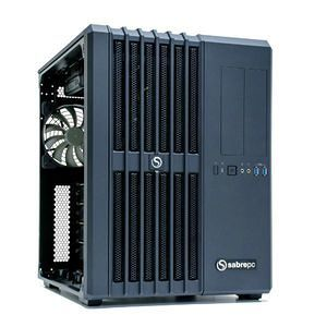 SabrePC CWS-1709607-DL2G-002 Deep Learning Workstation - Core i7-7820X - 128 GB - 2x TITAN RTX