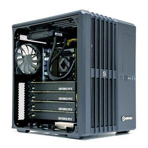 SabreCORE CWS-1709607-DL2G Mid-Tower - Deep Learning 2x GPU Workstation