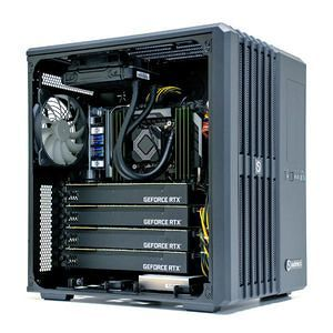 SabreCORE CWS-1718959-IRAY Mid-Tower Workstation - NVIDIA® Iray Appliance