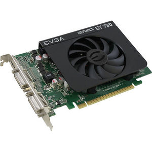 EVGA 02G-P3-2738-KR VIDEO CARD - NVIDIA GEFORCE GT 730 - PCI EXPRESS 2.0 X16 - 2 GB - GDDR3 SDRAM
