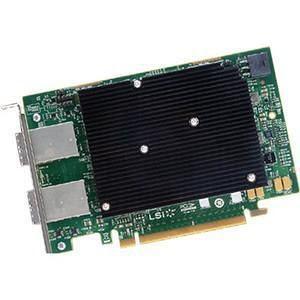 Broadcom 05-25688-00 16 External Port 12 Gb/s SAS Controller - LSI00461 / SAS 9302-16E SGL