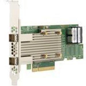 Broadcom 05-50031-02 8 Internal/External Port 12 Gb/s SAS Controller - SAS 9400-8I8E SGL