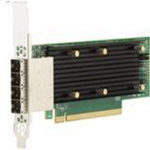 Broadcom 05-50044-00 16 External Port 12 Gb/s SAS Controller - SAS 9405W-16E SGL