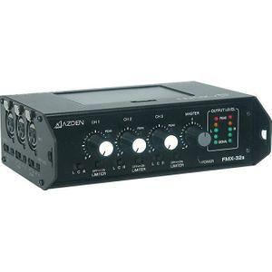 Azden FMX-32A Professional Portable Mixer with 3 XLR Inputs