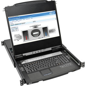 "Tripp Lite B030-008-17-IP 8-Port Rackmount Console HDMI KVM Switch 17"" LCD IP Remote Access"