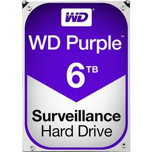 """WD WD60PURZ Purple 6 TB 3.5"""" 5400 RPM SATA 64 MB Cache Hard Drive"""