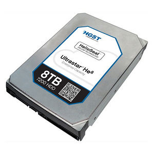 """HGST 0F23661 Ultrastar He8 4KN TCG FIPS HUH728080AL4205 8TB SAS 3.5"""" 7200RPM 128MB Cache Hard Drive"""